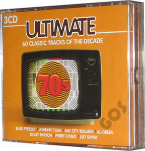 The-Ultimate-70s-Seventies-Songs-60-Music-Tracks-Original-Recordings-3-CDs-New
