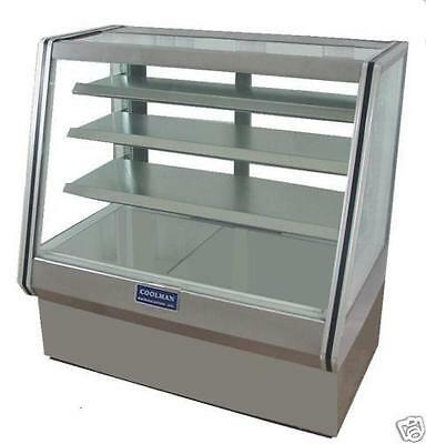 New Coolman Dry Bakery Pastry Display Case 48 High Bakery.