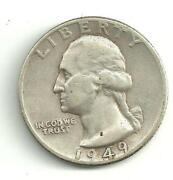 1949 D Quarter