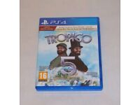 SONY PLAYSTATION PS4 GAME TROPICO 5 LIMITED SPECIAL EDITION PASSPORT PAL 16 DTS.