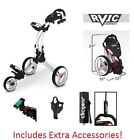 Clicgear Push-Pull Golf Carts with Swivel