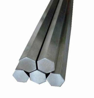 18 .125 X 6 Stainless Steel Hex Rod Bar 303 Hexagonal Precision