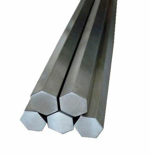 """7/16"""" (.437) x 6"""" Stainless Steel Hex Rod, Bar 303 Hexagonal"""