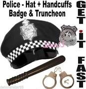 Police Hat Badge