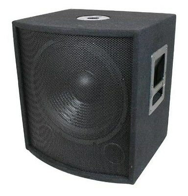 "NEW 15"" SubWoofer Speaker.Pro Audio.700w.DJ.PA.Woofer.8ohm.fifteen inch BASS sub"