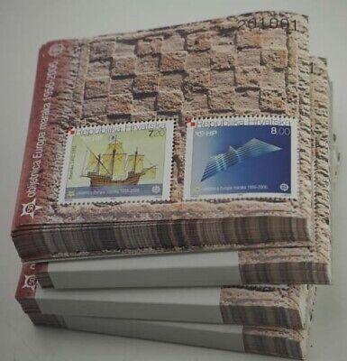 2005 Kroatien; 400 Blocks Europa, postfrisch/MNH, Bl. 27, ME 14000, -