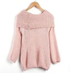 Off Shoulder Sweater Ebay