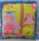 Unbranded Owl 100% Cotton Decorative Cushions & Pillows