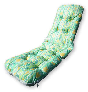 Outdoor Garden Chair Cushion Replacement Padded Patio Recliner Deck Chairs Pa