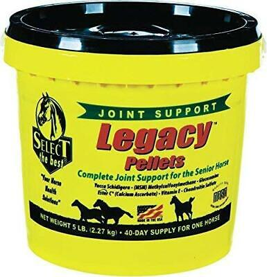 Richdel Legacy Pellets Joint Support for Senior Horses 5 Lbs.