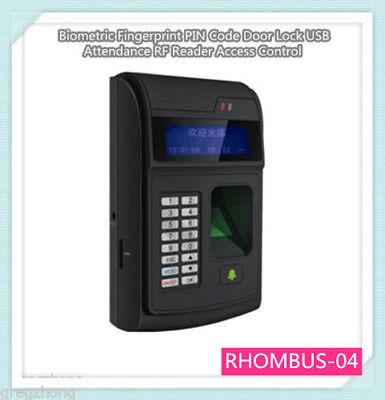 Pin Code Door Lock Usb Attendance Rf Reader Access Control Biometric Fingerprint