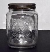 Large Clear Glass Jar