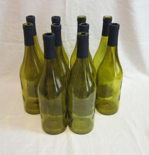 Empty Wine Bottles Lot Ebay