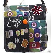 Handtasche Damentasche Tasche Schultertasche Shopper Bag Schwarz