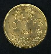 10 Francs Gold