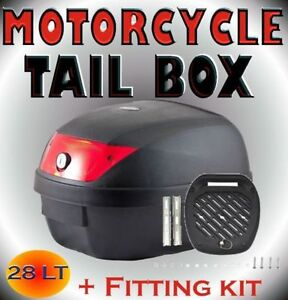 Motorbike Scooter Top Tail Rear Storage Box (2 sizes) BRAND NEW! Baulkham Hills The Hills District Preview