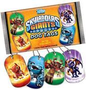 Skylanders Dog Tags