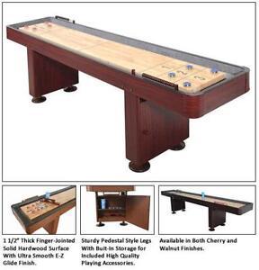 12 Foot Shuffleboard Table