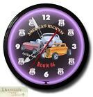 Route 66 Neon Clock