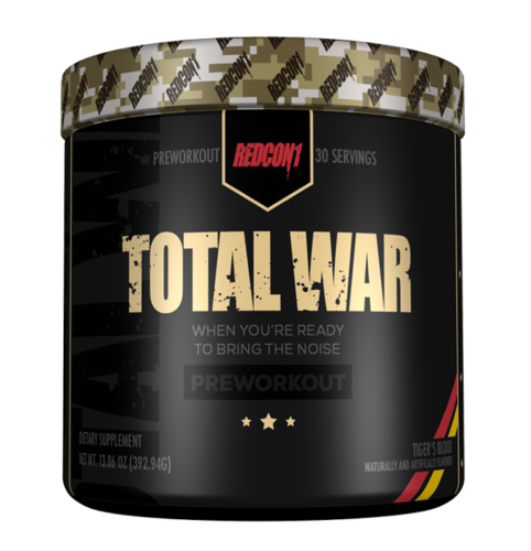 Redcon1 TOTAL WAR Pre Workout Insane Energy New Formula ALL FLAVORS FREE SHIP 2