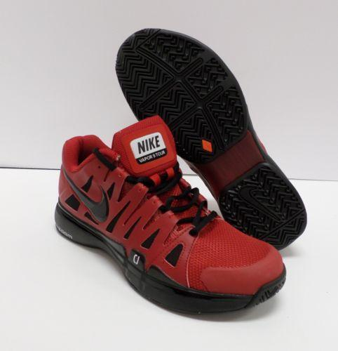 Red And Black Womens Tennis Shoes