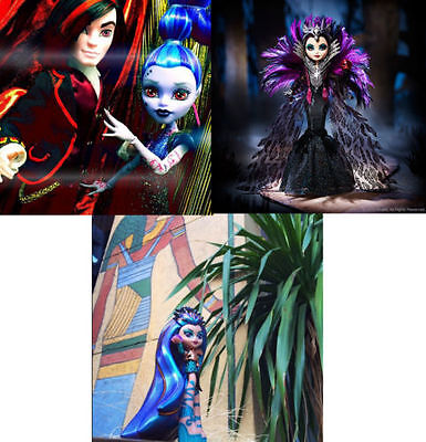 Monster High Valentine Whisp & Nefera Ever After Raven Queen 2015 SDCC Exclusive ()