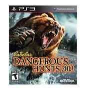 Cabela's Dangerous Hunts 2013 PS3