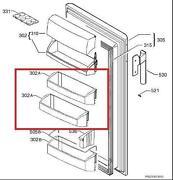 Kühlschrank Ablage