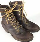 Whites Lace Up Boots for Men