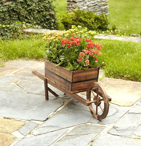 How to Make Your Own Wooden Garden Planters eBay