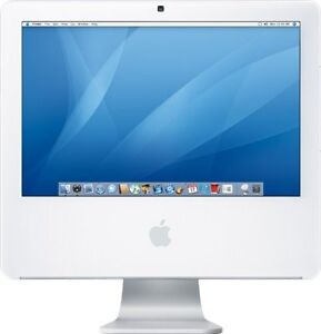 IMAC 20 INCH 2007 C2D 2.16 2GB 250GB WEBCAM MAC OFFICE 129$