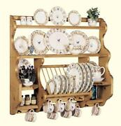 Antique Plate Rack