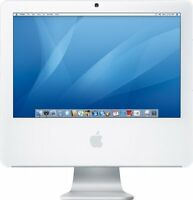 imac 1207 20 inch CORE DUO 2GB 25GB WEBCAM OS MAC OFFICE 170$