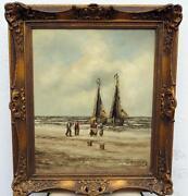 Gemälde Schiff
