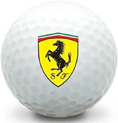 1 Dozen (Ferrari Logo) Mint   AAAAA Titleist Pro V1x Collectors Golf Balls 7ec1081d11d
