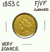 Coronet Head Gold $5 Half Eagle