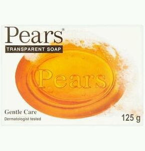 2 X Pears Transparent  Soap Gentle Care Dermatologist Tasted 125g