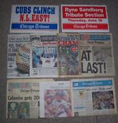 Baseball Newspaper