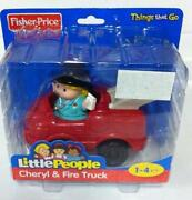 Little People Fire Truck