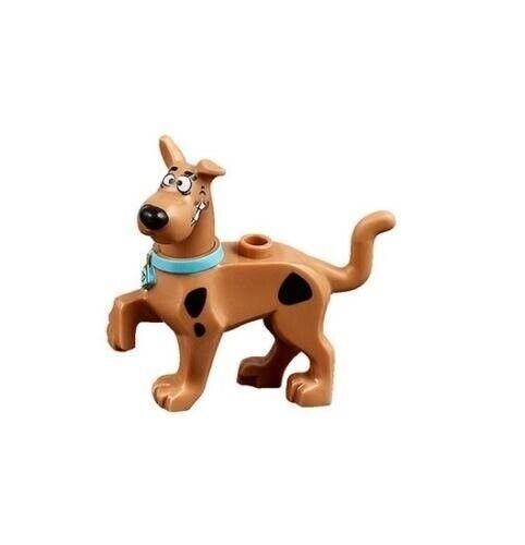 New LEGO Medium Dark Flesh Dog Great Dane Scooby Doo Walking Collar Set 75902
