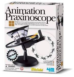 ANIMATION PRAXINOSCOPE SCIENCE KIT Zoetrope Homeschool Optical Experiments Fair