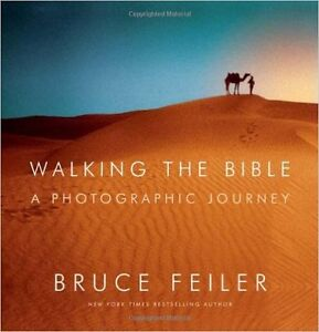 Walking the Bible a photographic journey Cover price $42.95 /tax