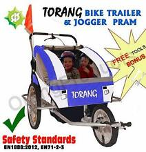 BrandNew Torang 3in1 Kid child Bike Trailer 2seats Bicycle jogger Maylands Bayswater Area Preview