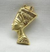 Gold Egyptian Pendant