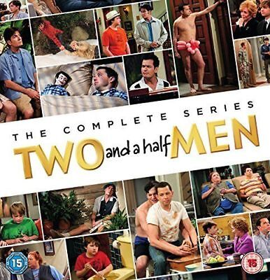 Two and a Half Men Complete Series DVD Set Seasons 1-12 60 Day warranty