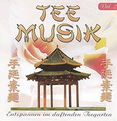 Tee Musik 2 (2002) Entspannen im duftenden Teegarten  [CD]