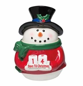NEW IN BOX SCENTSY SNOWMAN COUNTDOWN London Ontario image 1
