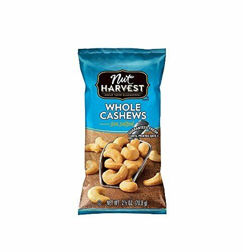 Planters Salted Cashews 1.5 oz (Pack Of 36)