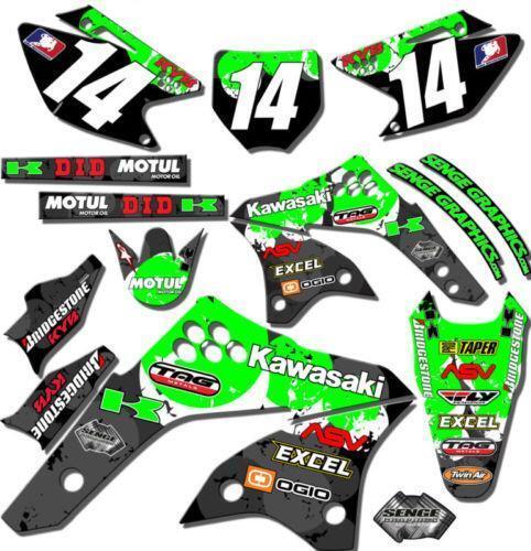 Kawasaki Klxsf Graphics