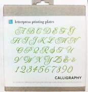 Letterpress Plates